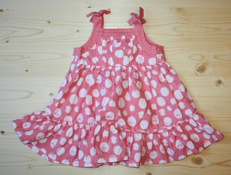 Длина платья на 3 месяца