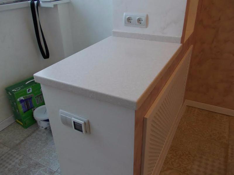 Столешницы, подоконники и другие изделия из искусственного к.