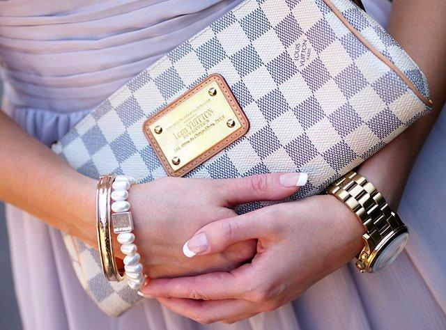 Клатч Louis Vuitton женский, купить клатч Луи Виттон Ева