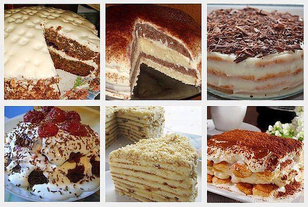 Рецепты торта быстрого
