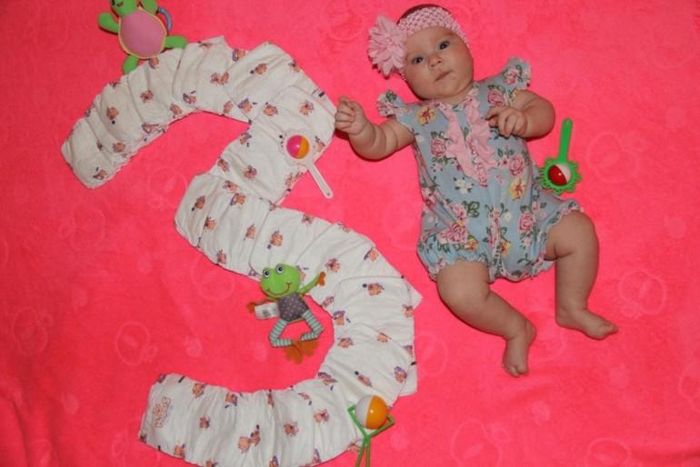 Открытки малышу 3 месяца фото