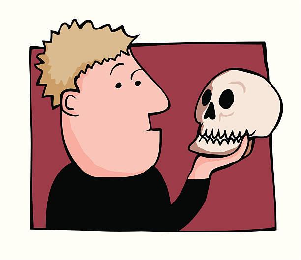 что картинки гамлета с черепом стоит оговориться