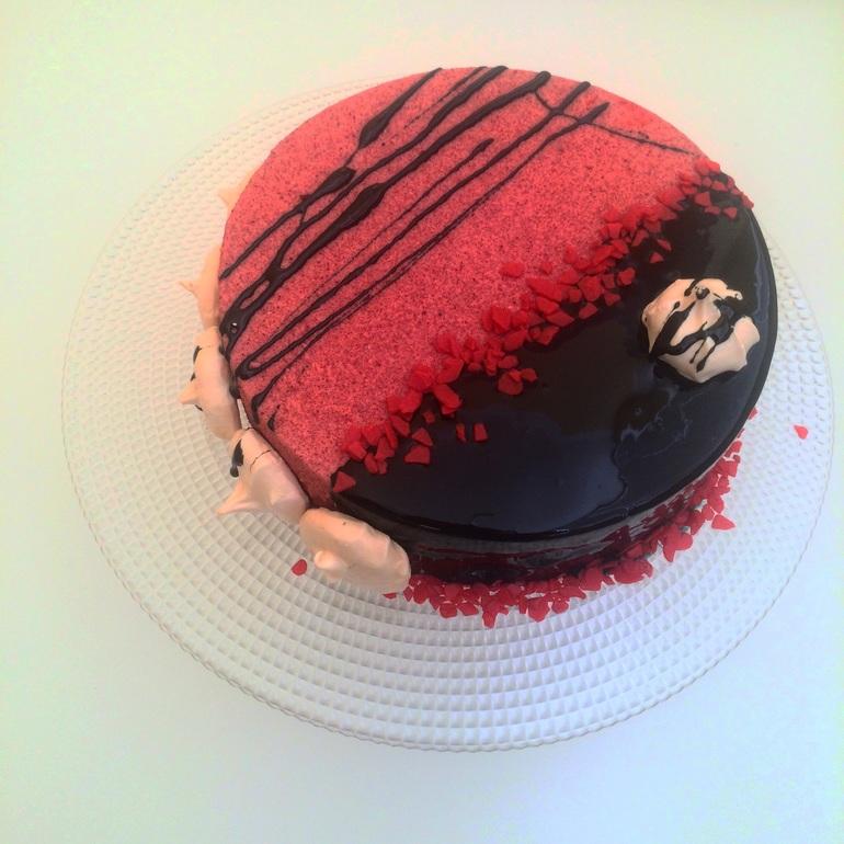 Кулинарный мастер-класс: велюровый торт 12