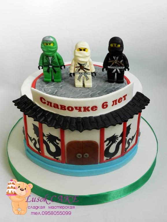 Торт с кислым молоком фото 1
