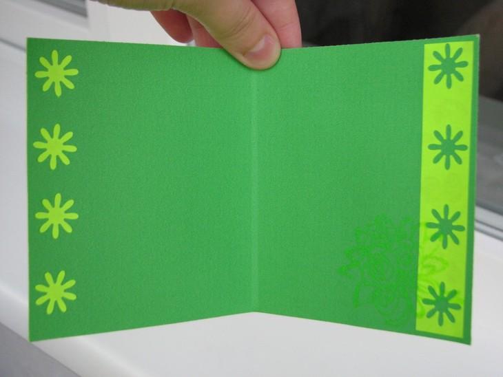 предлагаем открытки с фигурными дыроколами после установки дверцы