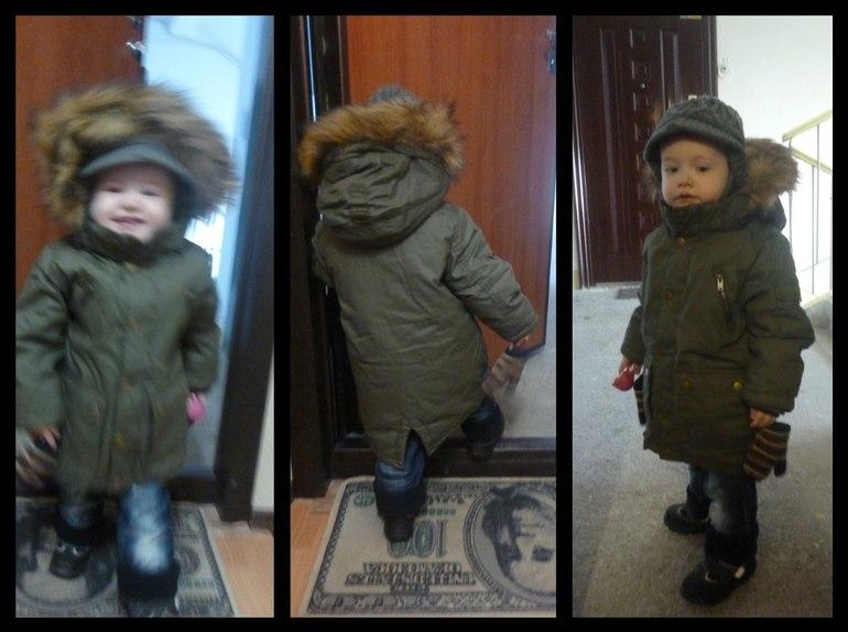 Парка для ребенка с чем носить