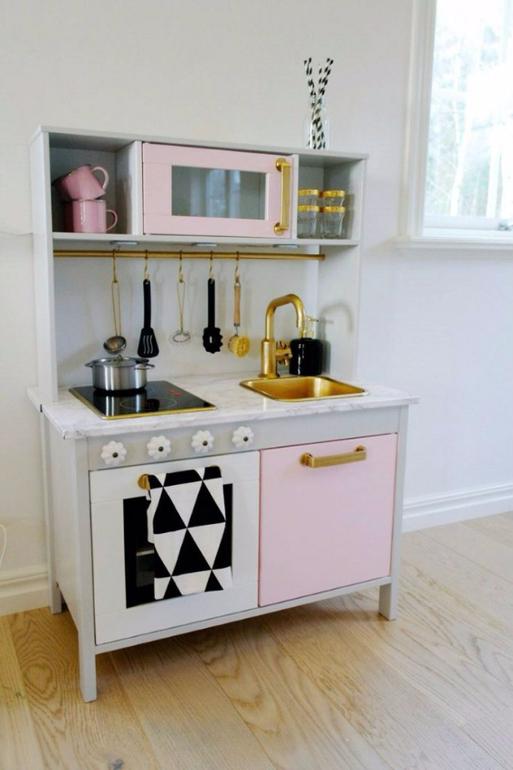 Stylish wood ultramodern ikea kitchens cabinet