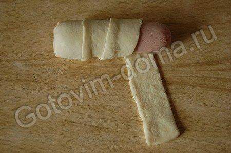 Рецепт сосиска в тесте в хлебопечке рецепт