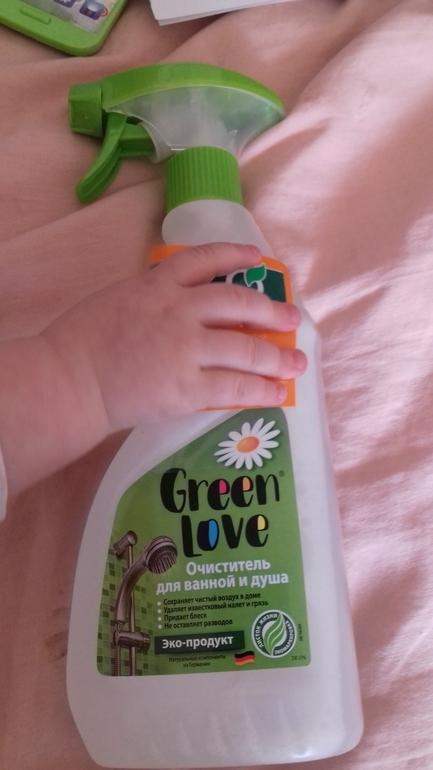 Тест драйв очистителя для ванны и душа Green Love